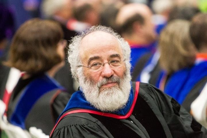 Charlie at UMaine Commencement 2012