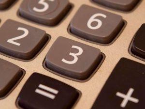 Calculator buttons
