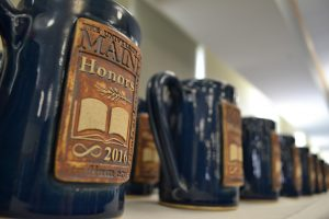 Honors Steins presented to Honors Graduates at the celebration.