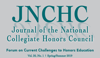 Logo of the Journal of the National Collegiate Honors Council