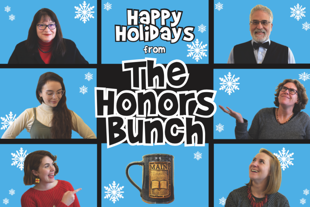 The Honors Bunch Holiday Card - Happy Holidays from the Honors Bunch