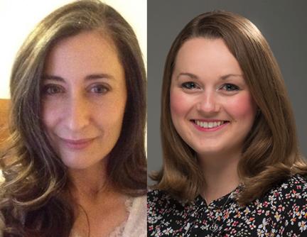 Photographs from left: Rachel Binder-Hathaway '12H; Jenny Desmond '14H