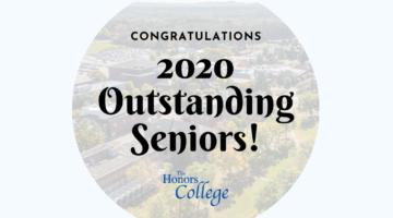 Congratulations, 2020 Outstanding Seniors!