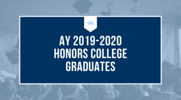 AY 2019-2020 Honors College Graduates