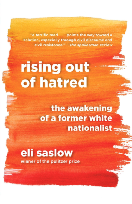 Book cover of Rising Out of Hatred by Eli Saslow