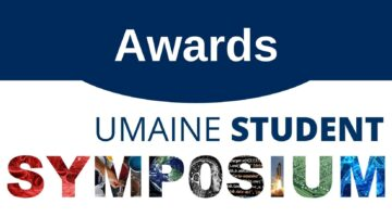 Awards from the UMaine Student Symposium